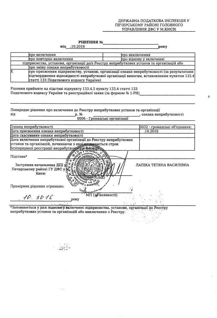 Образец Устава Благотворительной Организации Украина - фото 11